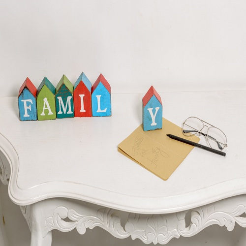 Family Wooden Blocks