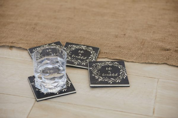 Life is Beautiful Coasters Set of 4