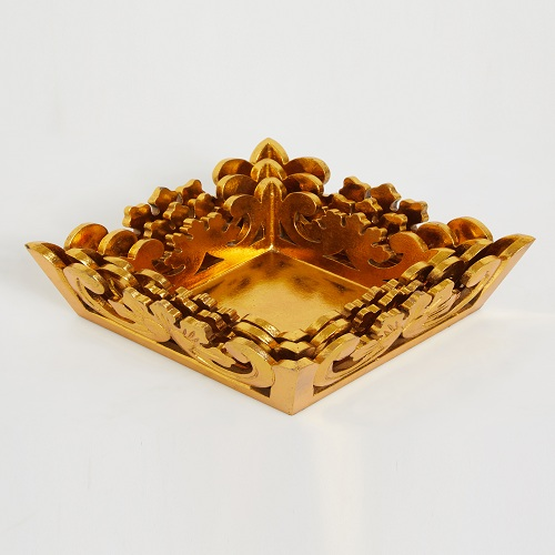 Gold Trays Set of 3