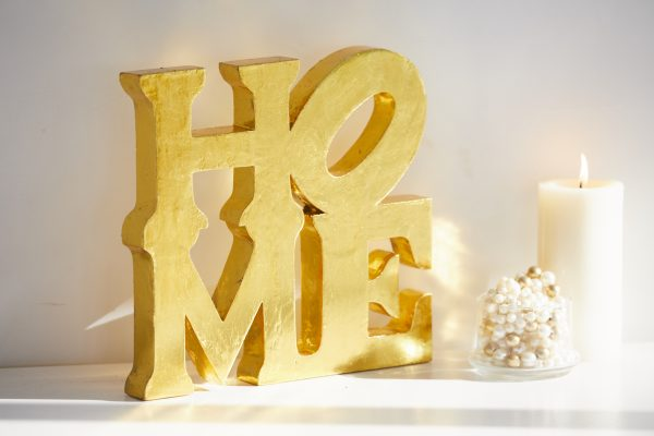 Gold Home Decor Accent