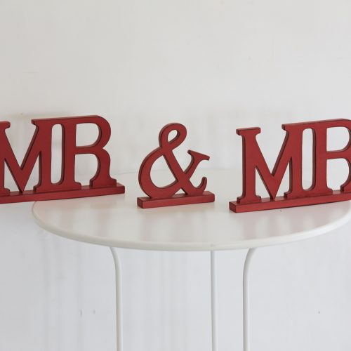 Mr & Mrs Decor Accent