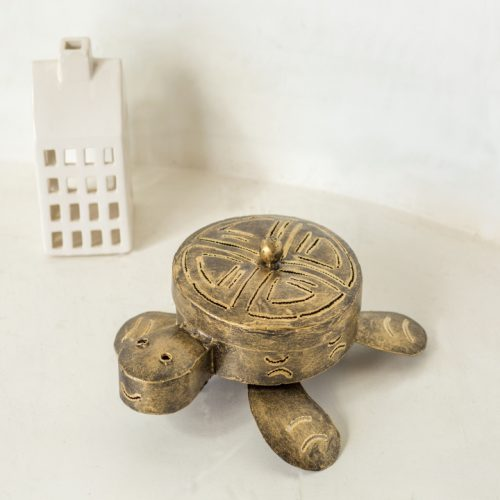 Gold Tortoise Coil Holder