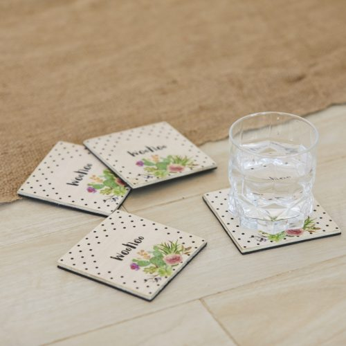 Woohoo Coasters Set of 4