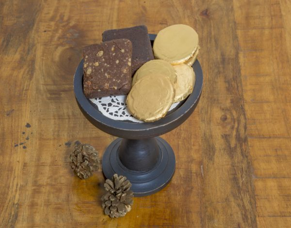 Black Small Cake Stand