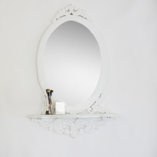 White Wall Mirror