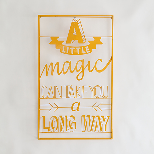 A Little Magic Wall Art (Copper)