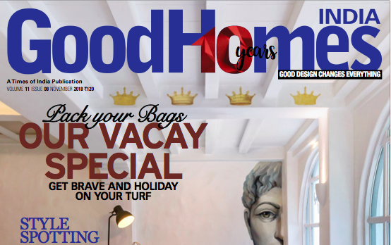 Good Homes Casablanca Project Cover Page Feature